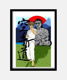 Karate-Do Buddha