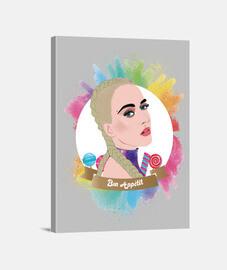 Katy Perry Lienzo - Aidadesignart