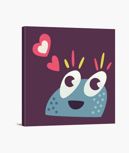 Lienzo kawaii cute dulces de dibujos animados