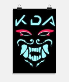 KDA Akali (neon)