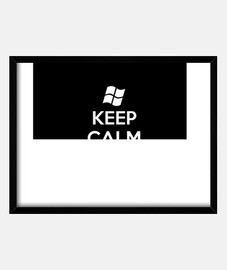 Keep Calm and Ctrl Alt Supr