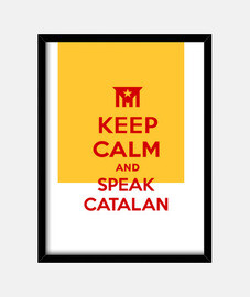 keep calm and di parlare catalano