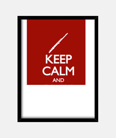 keep calm and flauto