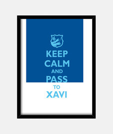 keep calm and passare a xavi