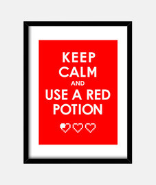 keep calm and use a potion network