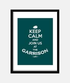 keep calm garrison used