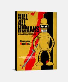 kill all les humains toile