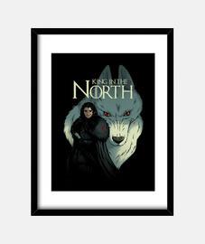 king nella stampa north