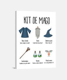 Kit de Mago - Lienzo