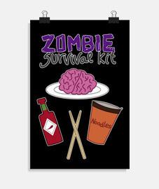 kit de survie zombie