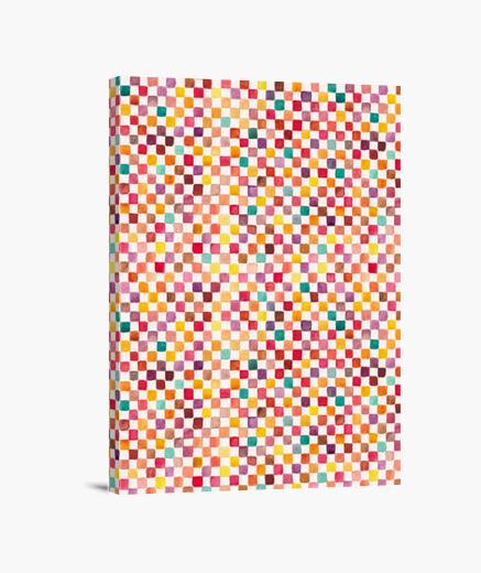 Klee pattern canvas