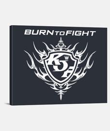 KOF Burn to Fight (White)