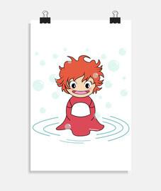 Kokeshi Ponyo
