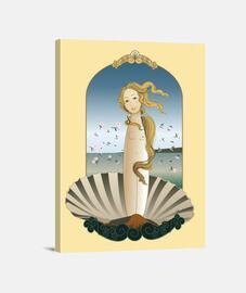 Kokeshi Venus estilo Botticelli