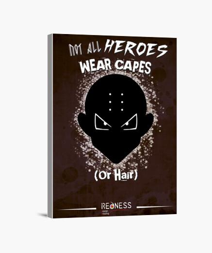 Krilin: Not all heroes wear capes (Lienzo)