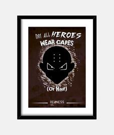 krilin: not all les héros portent des capes (photo)