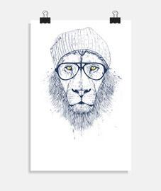kühler Löwe