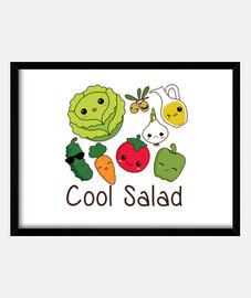 kühler salat