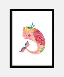 la ballena rosa
