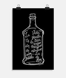 La Botella de Ron.