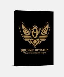 la división de bronce