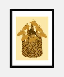 la girafe balck de la famille