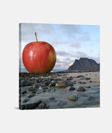 La invasión de la manzana gigante