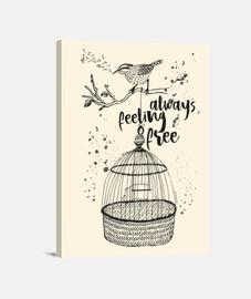 la libertà - uccello