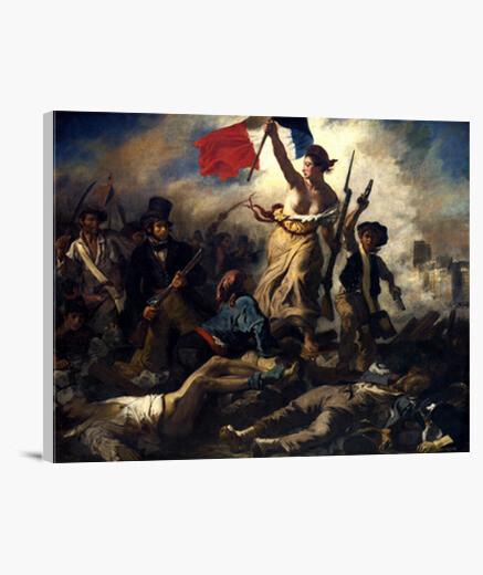 Lienzo La Libertad guiando al pueblo  (1830)
