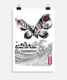 la montée du papillon géant