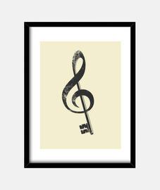 la musique est la clé