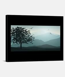 Landscape - Lienzo Horizontal 4:3 - (40 x 30 cm)