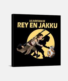 Las aventuras de Rey en Jakku letra