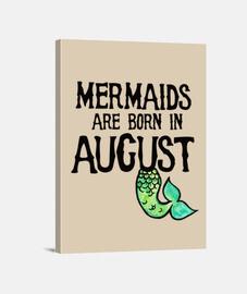 las sirenas nacen en agosto