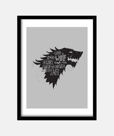 lasciare one lupo vivo ...