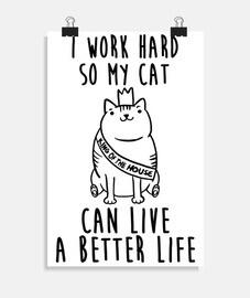lavoro per mio gatto