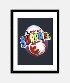 Law of Surprise print