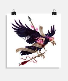 le corbeau de zombies