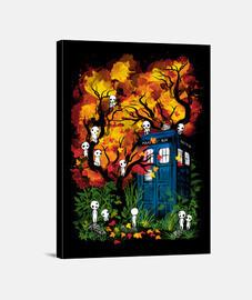 le docteur dans la forêt