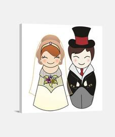 le kokeshi fidanzati