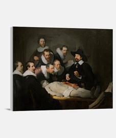 Lección de anatomía del Dr. Nicolaes Tulp (1632)