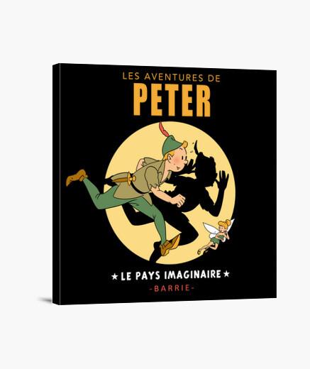 Lienzo Les Aventures de Peter