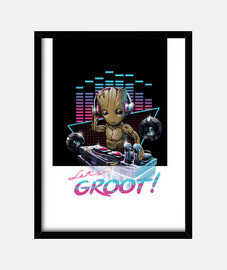 Let's Groot! Shirt Womens