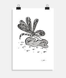 libélula - cartel