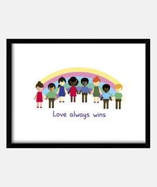 liebe gewinnt immer