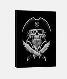 lienzo - pirata capitán