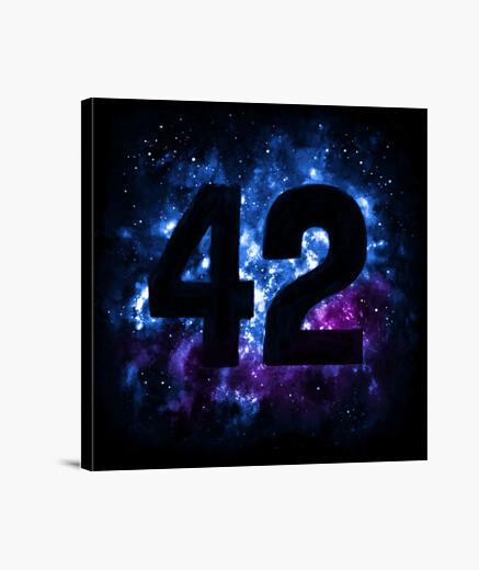 Lienzo 42 en el espacio
