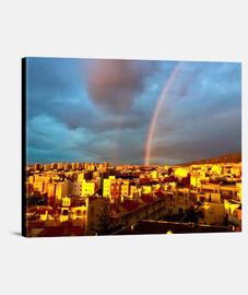 Lienzo  Arco Iris Horizontal 4:3 - (40 x 30 cm)