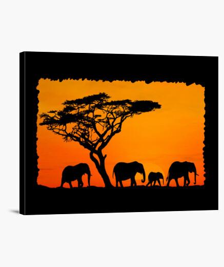 Lienzo ÁFRICA Y.ES_054A_2019_África