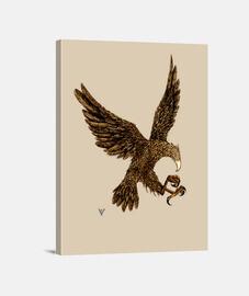 lienzo águila